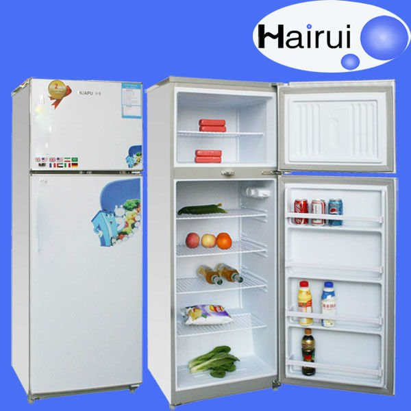 230L top freezer down fridge <strong>refrigerator</strong>
