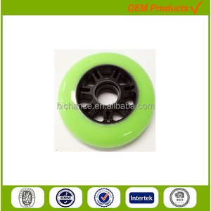 90mm color wheel for kids scooter plastic parts