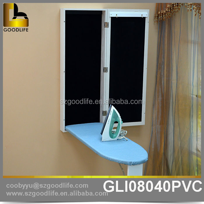 Folding ironing board folding board manufacturer supplier for Table murale retractable
