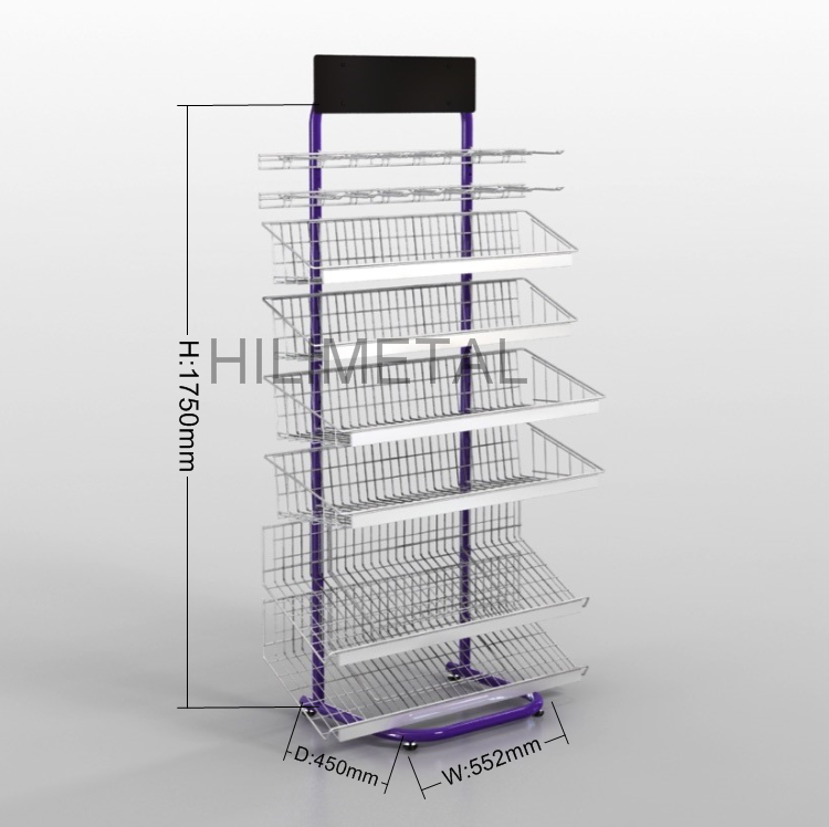 Rotating Display Wire Racks, Rotating Display Wire Racks Suppliers ...
