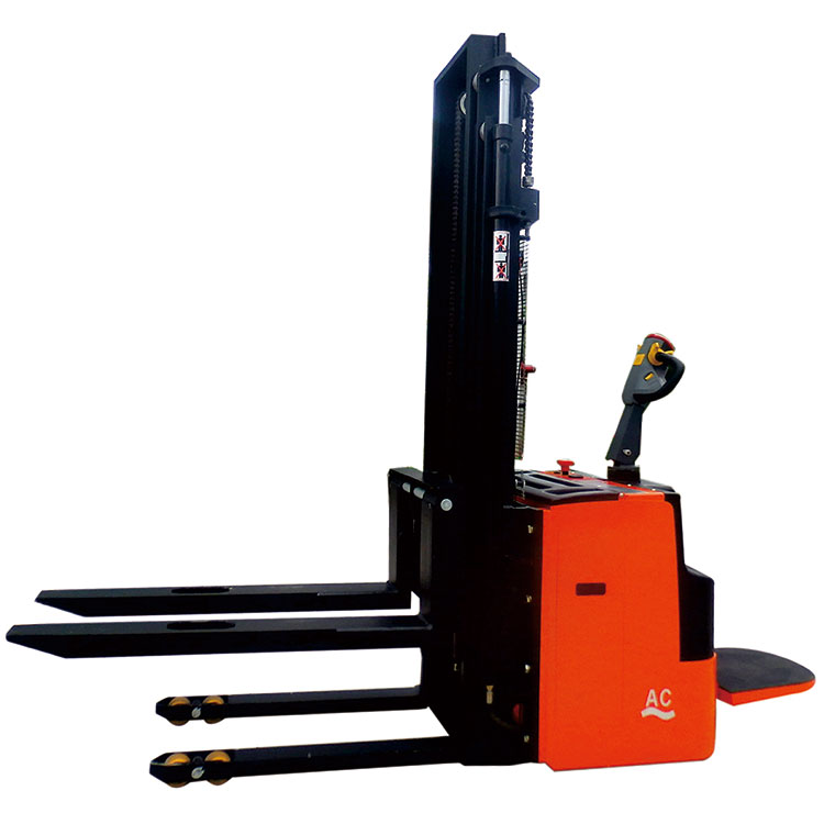 2017 Top Sale fork lift mini battery operated stacker