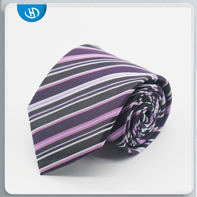 New Twill Fashion Stylish High Quality Silk Mens Neckties With Fabric Factory