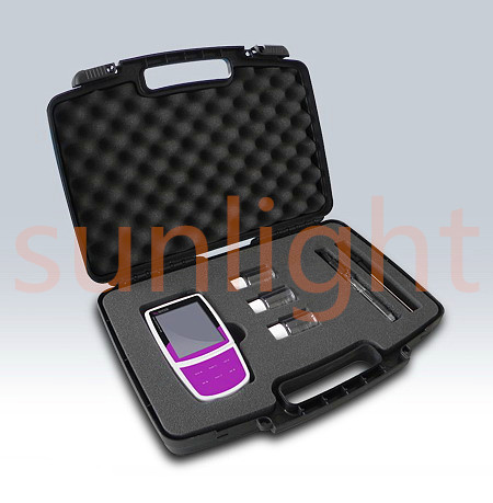SL320 Portable pH/ORP/Ion/Temperature 4 in 1 Meter with USB Datalogger