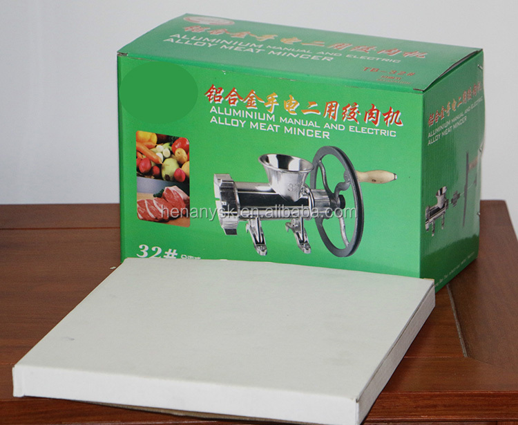 32 Aluminum Alloy Manual / Electric Meat Grinder Hand Kitchen Meat Grinder