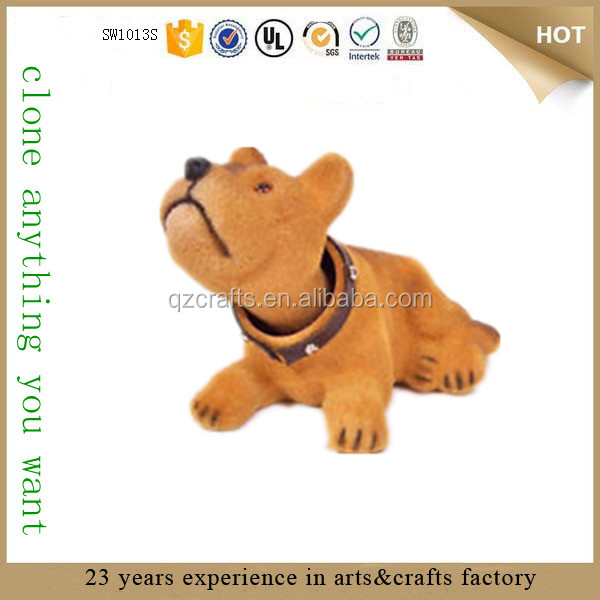 high quality resin custom dog bobblehead dog with bobble head animals