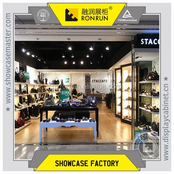 Modern Design Metal Shoe Display Rack,Brand Shoe Shop Decoration ...