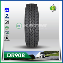 Keter brand Wholesale Jordans 13R22.5 truck tyre company