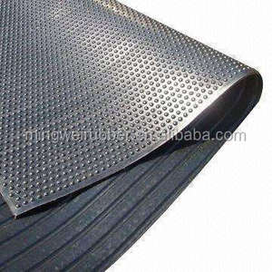 Wholesale direct manufacture recycled rubber cow mat flooring for horse