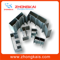 6000 Grade 6063 6061 6063A T5 T6 Extrusion Frame extruded aluminum h channel