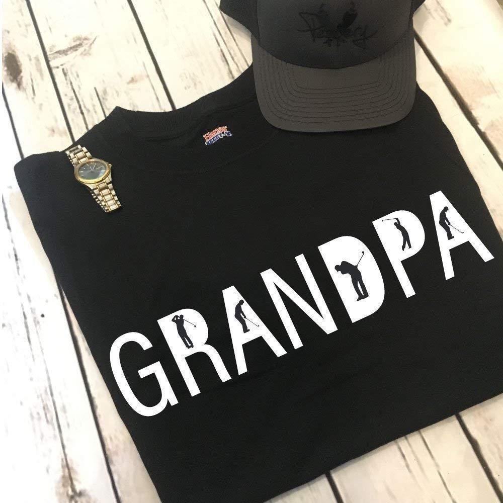Golfing Grandpa Men's Shirt Fathers Day Gift For The Golf Loving Grandpa From Kids Gift For Dad Men's Shirt Gift Idea For The Golfer Grandpa