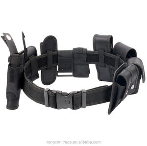 Hot sale Black Law enforcement modular equipment system security military tactical duty utility belt