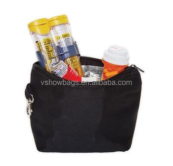 Insulated Mini Travel Medicine Bag Carrier