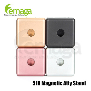 LEMAGA 510 Atomizer Base electronic cigarettes stand cigarette wood stands 10pcs/pack