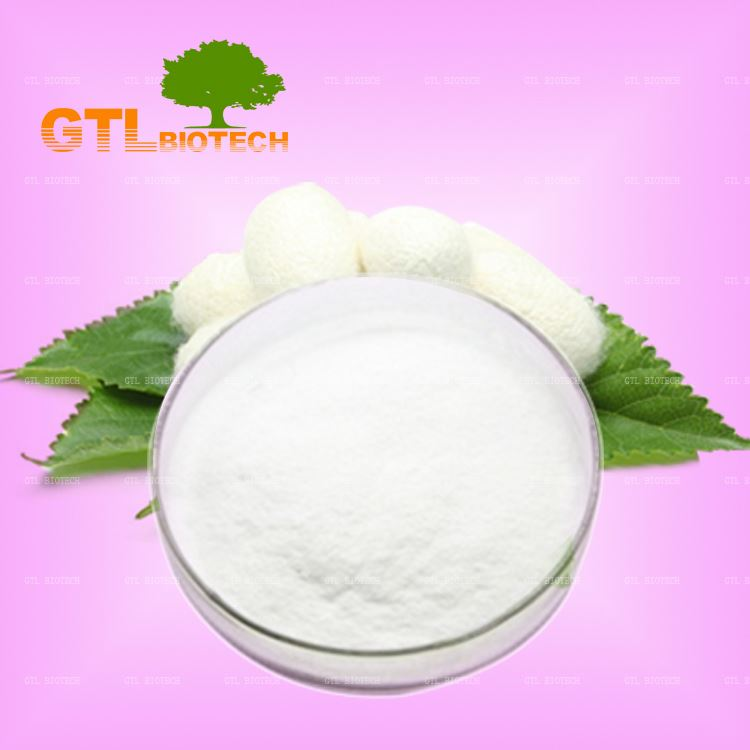 Factory Sale High Quality Silk Fibroin Powder Cosmetic Grade For Hair And Skin Care