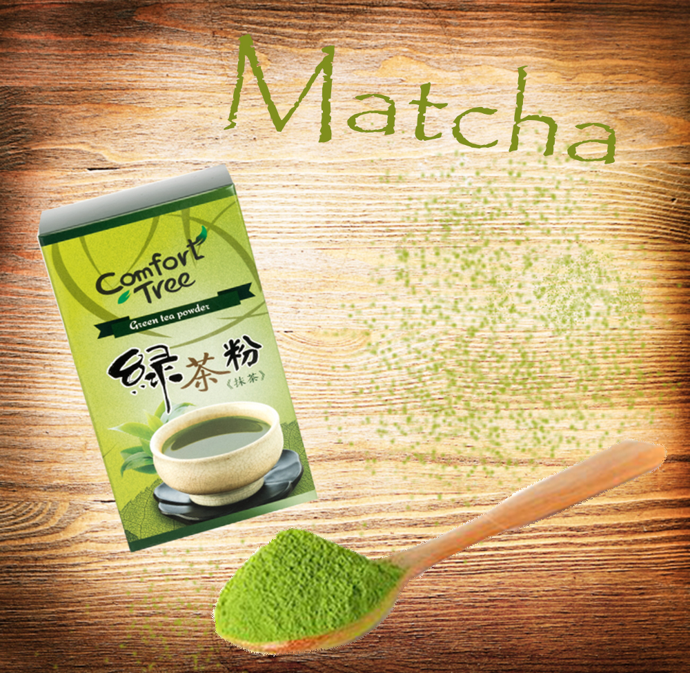Comfort Tree - Natural powdery green tea powder for drinking