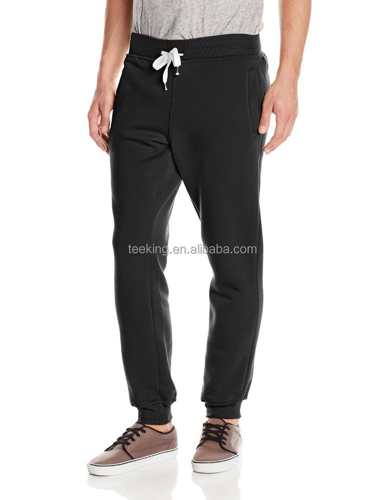 High Quality slim fit terry fleece track pant
