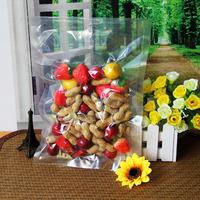 Food grade laminated custom embossed vacuum bag