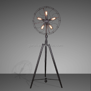 Antique Black Wrought Iron Fan Floor Lamps Buy Black Wrought Iron
