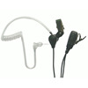 Air tube two way radio earphpne 2 pin headset for walkie talkie