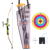 Children Outdoor Shooting Sports Kit Emulational Bow and Arrow Set for Kids