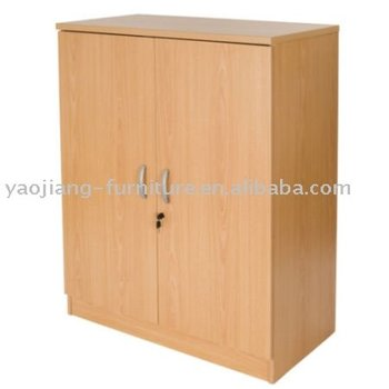 Wooden High Hanging Clothes Storage Cabinets