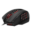 Patent High-Precision 16400 DPI Laser MMO Wired Gaming Mouse with 19 Programmable Buttons and 12 Side Buttons