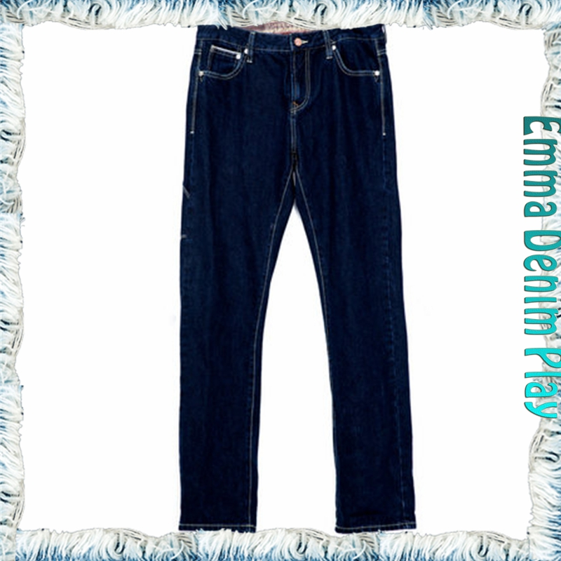 Classical Customized Made Men Straight Fit Denim Jeans All Size Wholesale Price Colthing Supplier