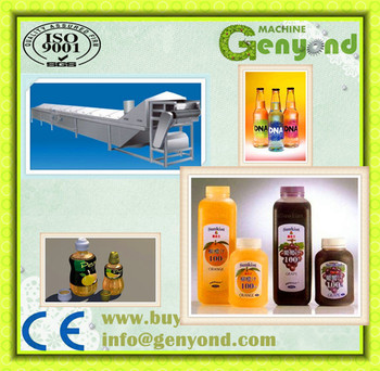 Automatic Beer Bottle Tunnel Pasteurizer/spray Bottle ...