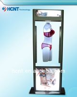 New Invention ! magnetic levitation led display rack for underwear, open girls bra