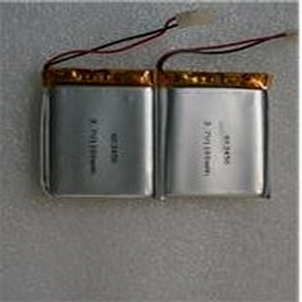3v 120mAh CP201335 polymer lithium battery ultra thin battery