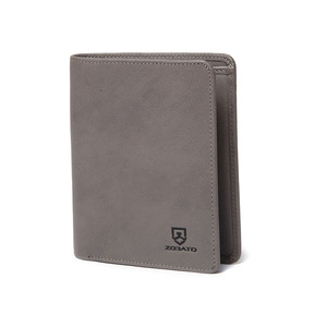 Men's and women's hot sale custom thin fashion leather rfid purse wallet