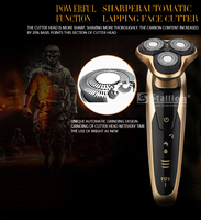 stallion Washable Rechargeable Electric Shaver Triple Blade Electric Shaving Razors Men Face Care 3D Floating