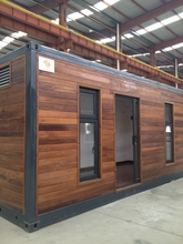 Economic and luxury prefabricated container house for sale