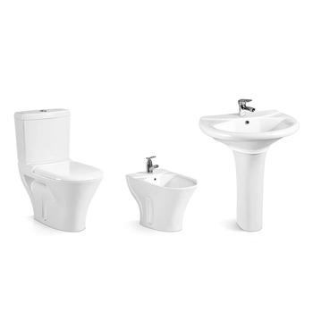 Bathroom Suite Wc Set Good Quality Two Piece Toilet Basin Bidet