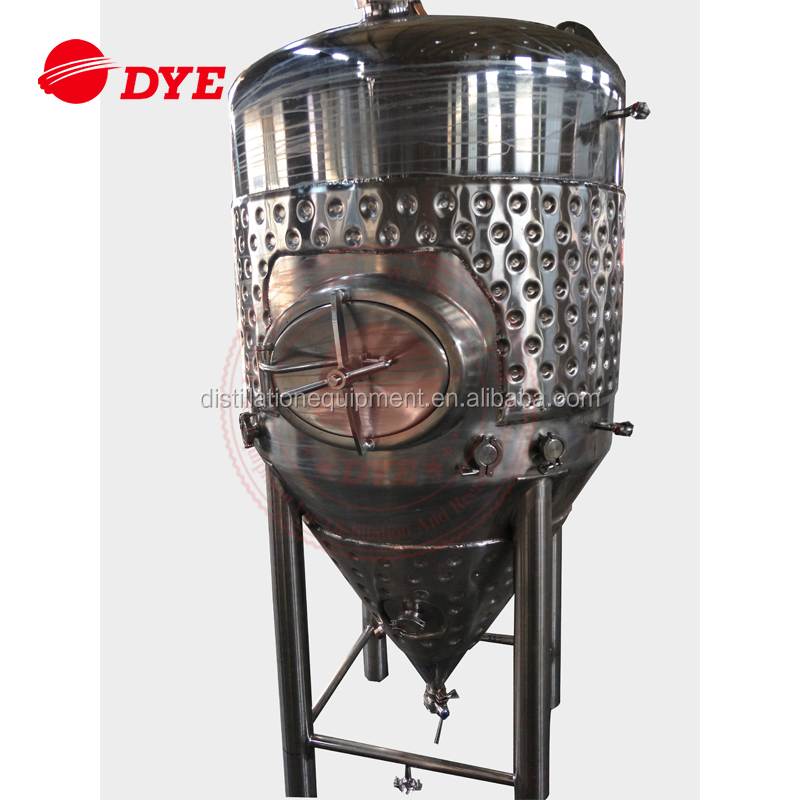 1000L jacketed home brewing kit beer fermentation tanks for sale