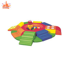 Kids soft play rainbow bridge indoor soft play <span class=keywords><strong>gym</strong></span> apparatuur voor verkoop