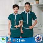 2016 Best Quality Uniform Hotel Staff, Hotel Maids Uniform for waiter