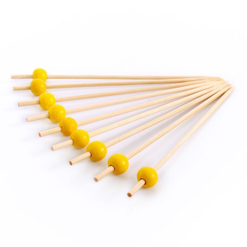 Factory sales disposable round bamboo sticks walking