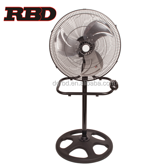 Multi-functional18 inch Industrial Electric Stand Fan 3 in 1 Air Cooling Metal Fan Blades with CB CE GS UL