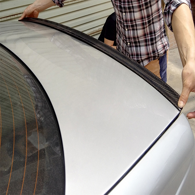 4 doors  Carbon Tail Spoiler For Bmw E46  M3   Carbon fiber tail