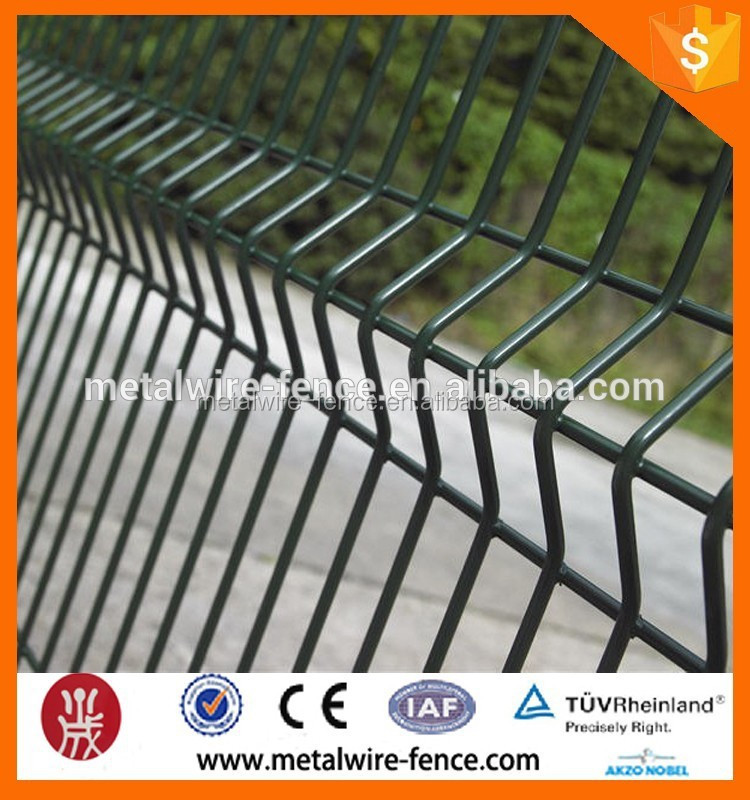 galvanized grand view welded wire fence;bending fence;wire mesh fence for boundary wall