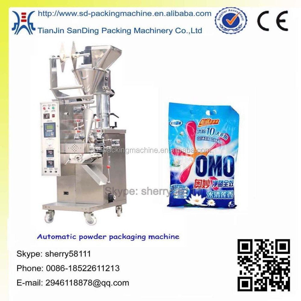 Automatic soap powder packing machine