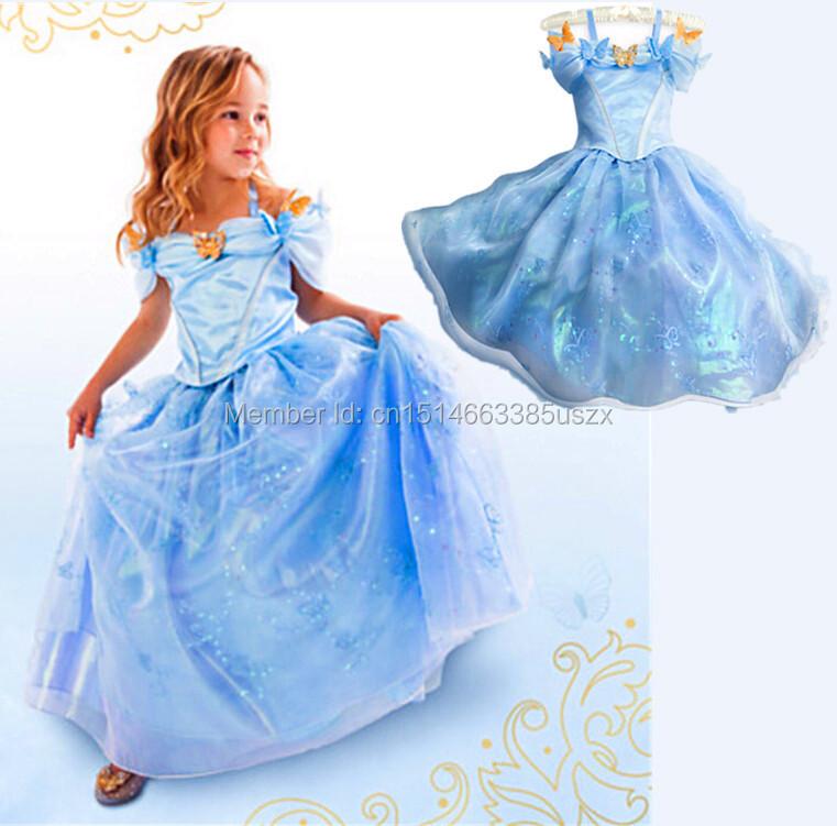 cinderella dress for kids - photo #32