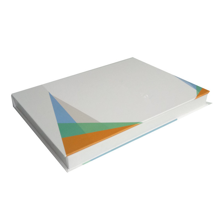 custom book style packaging white box cd box
