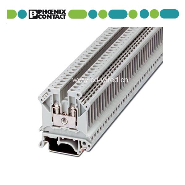 Phoenix UK3 Plastic Cable Connector 12-24 AWG Din Rail Terminal Blocks