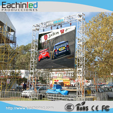 P6 Outdoor Rental Stage Full Color LED Display Screen With Pixel Pitch 6mm