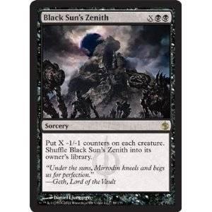 Magic: the Gathering - Black Sun's Zenith - Mirrodin Besieged