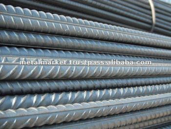 REINFORCIN DEFORMED STEEL BAR/TURKISH ORIGIN