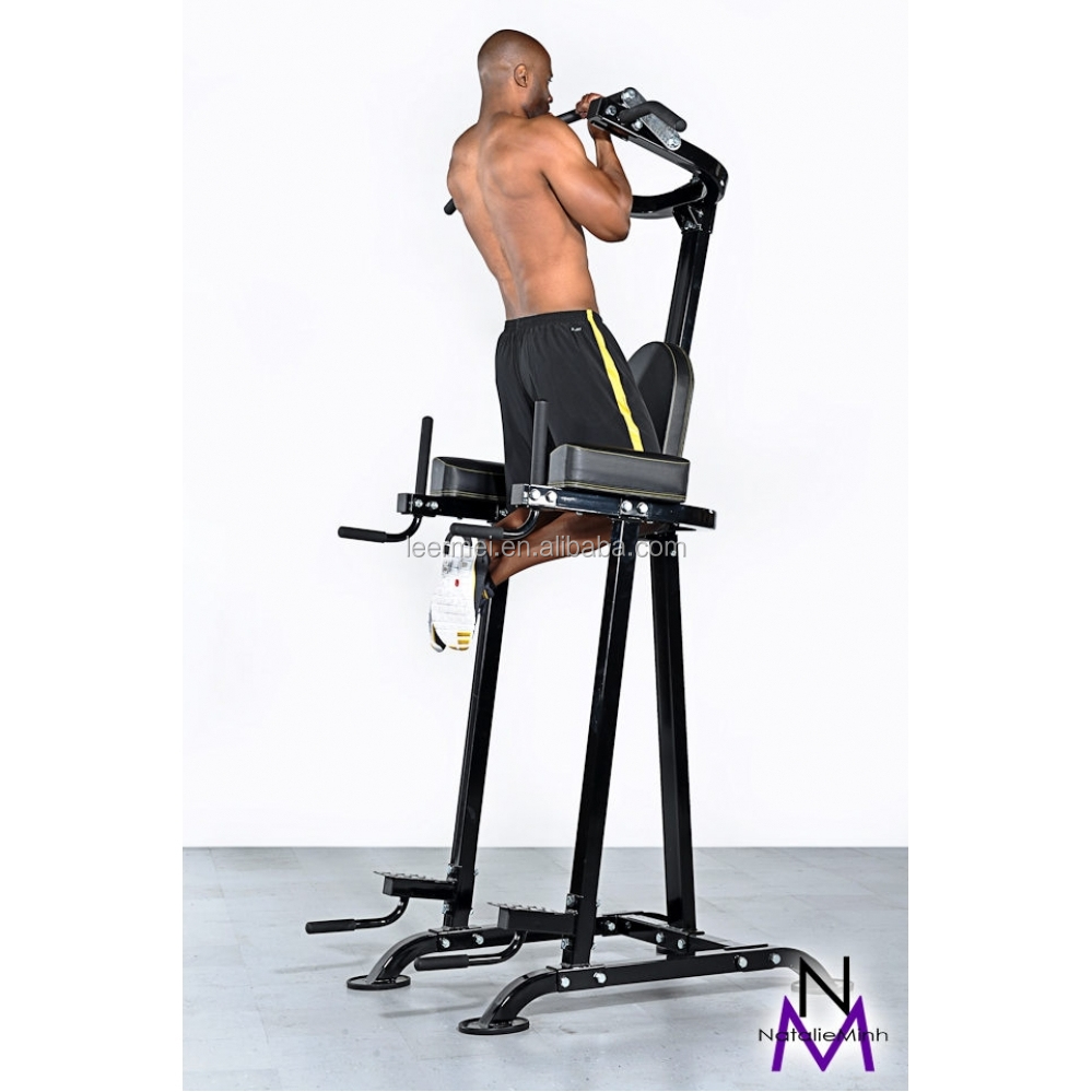 Bench Press Exercise Weight With Pull Up Bar Price Review: Knee Raise Multi Power Tower With Exercise Bench Chin Up