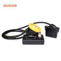 NEW WISDOM KL5M Miners Cap Lamp Waterproof Underground Headlamp Explosion-proof LED Li-ion Battery
